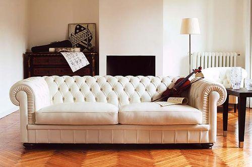 Dream Tufted Sofa, Living Space