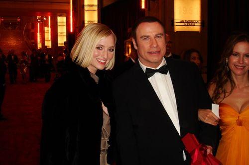 Katrina Szish, John Travolta, Kelly Preston Red Carpet