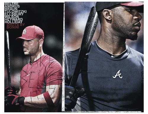 Nike Matt Holliday Jason Heyward Cindy Whitehead interview Candace Rose