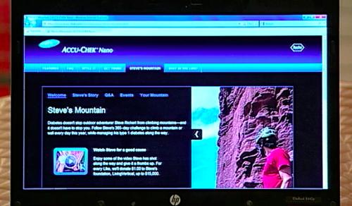 ACCU-CHEK STEVE'S MOUNTAIN NANO