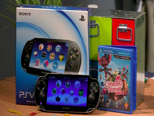 Sony ps vita littlebigplanet