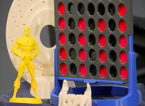3D objects Stratasys 3D Printer