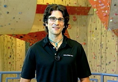 STEVE RICHERT rock climber
