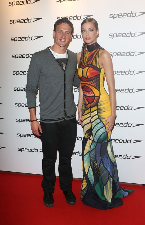 Olympic gold medalist Ryan Lochte, Model Annabeth Murphy-Thomas